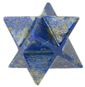 Etoile Merkaba lapis lazuli