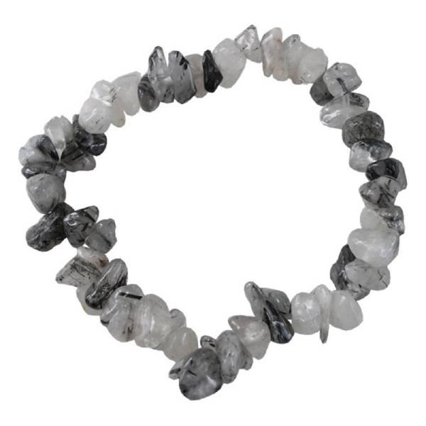 Bracelet baroque quartz tourmaliné