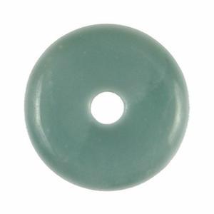 Pendentif donut pi - chinois amazonite