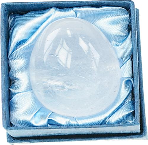 Oeuf cristal de roche