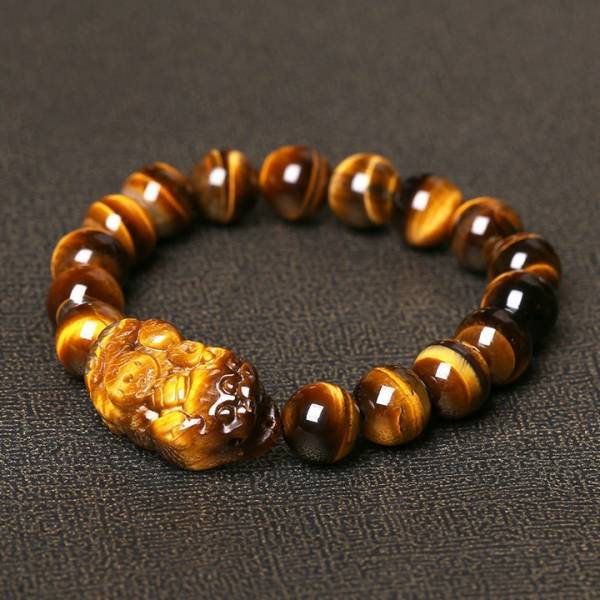 Bracelet perles oeil de tigre