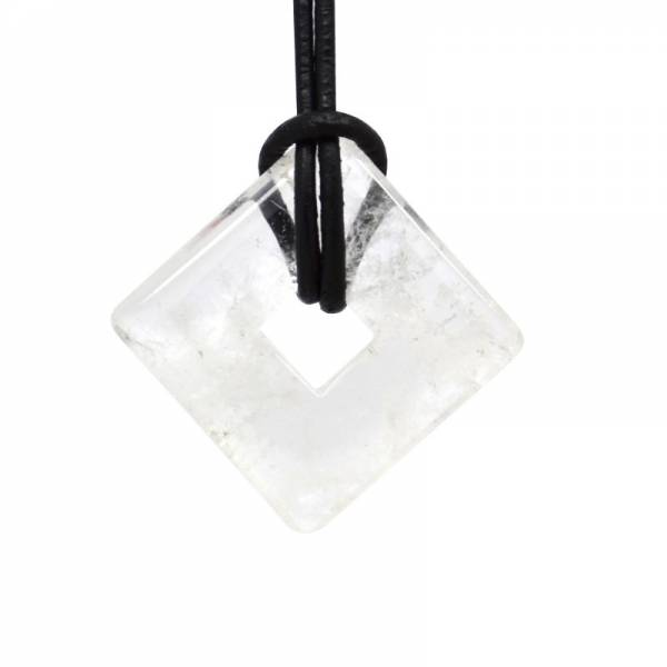 Donut carré cristal de roche