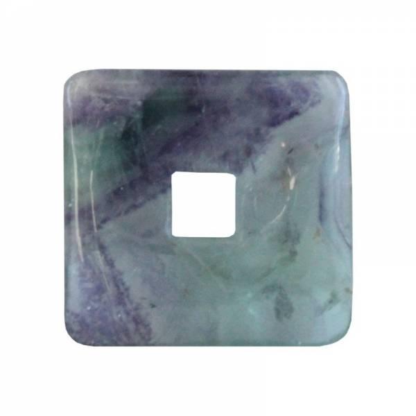 Donut carré fluorite